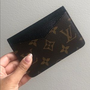 {Louis Vuitton} Neo Porte Cartes Macassar